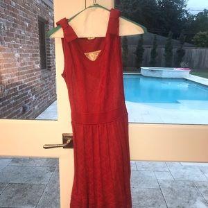 Red Missoni dress